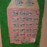 Adv kalender hus
