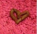 ett hjärta som Fido har gjort