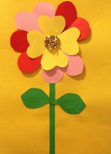 en blomma till Alla hjärtans dag