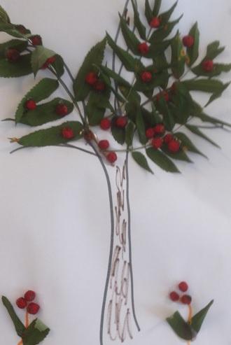 Vi gör ett eget rönnbärsträd