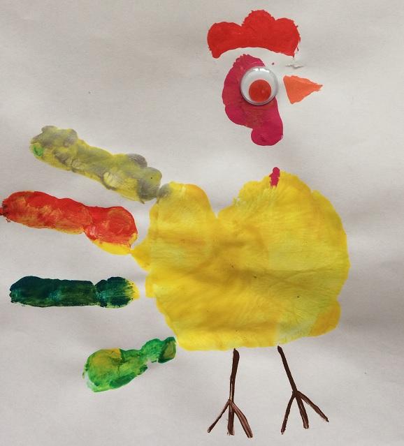 Kyckling av handtryck