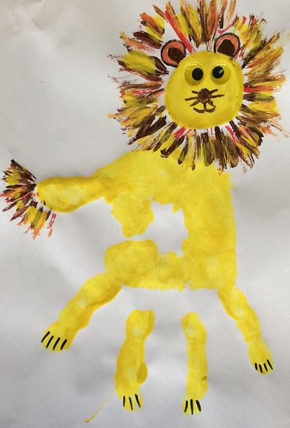 Lejon av ett handtryck