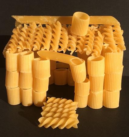 Hus av pasta