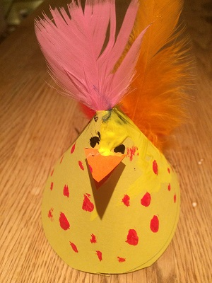 Kyckling av strut